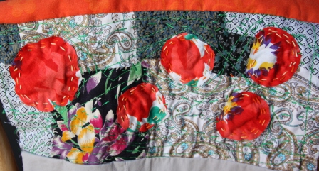 plaid, couture, patchwork, broderie,